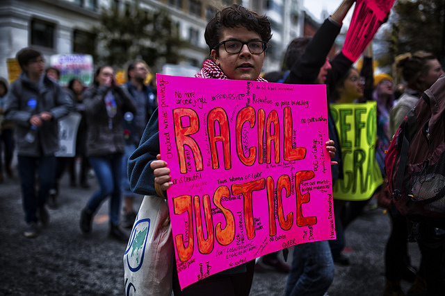 """Racial Justice"" (CC BY-SA 2.0) by Johnny Silvercloud"